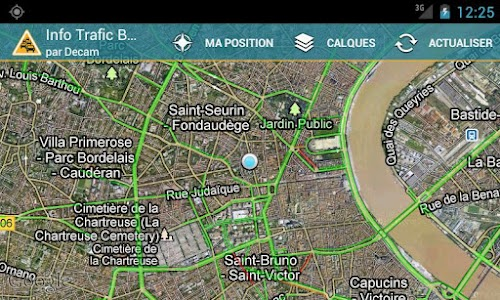 Info Trafic Bordeaux screenshot 2