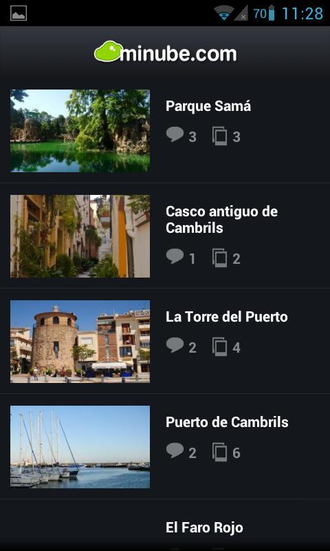 Guía de Cambrils - minube - screenshot