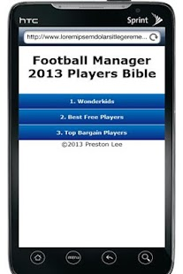 FM13 Players Bible - screenshot thumbnail