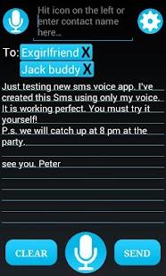 SMS Hlasem - náhled