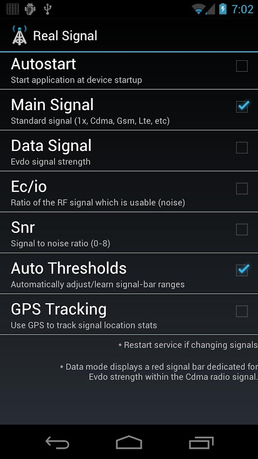 Real Signal - screenshot