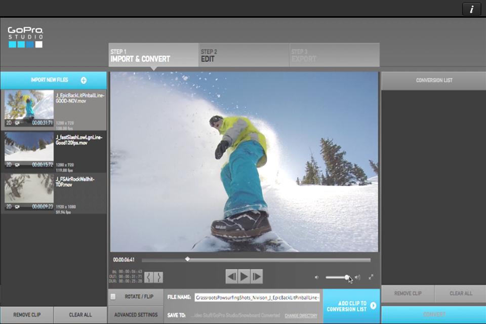 Gopro Studio Importer Download Mac
