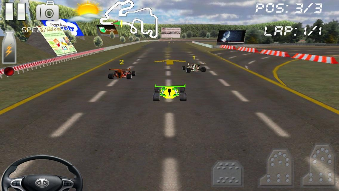 Circuit Racer2 3D Speed Racing- screenshot