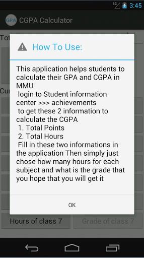 CGPA GPA Calculator MMU