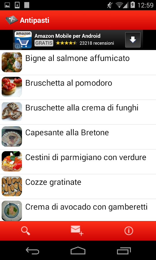 Mom's Italian Recipes - screenshot