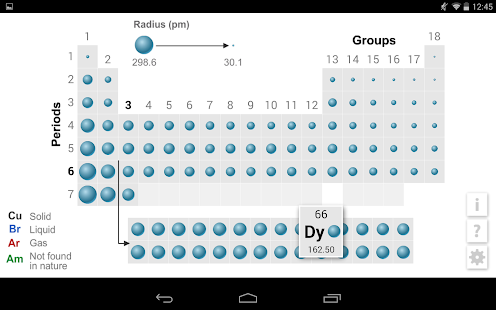 K12 periodic table apps on google play screenshot image urtaz Images