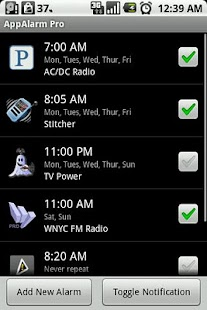 AppAlarm LITE- screenshot thumbnail