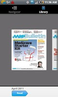 Screenshot of AARP Bulletin