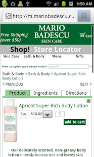 Mario Badescu Skin Care- screenshot thumbnail