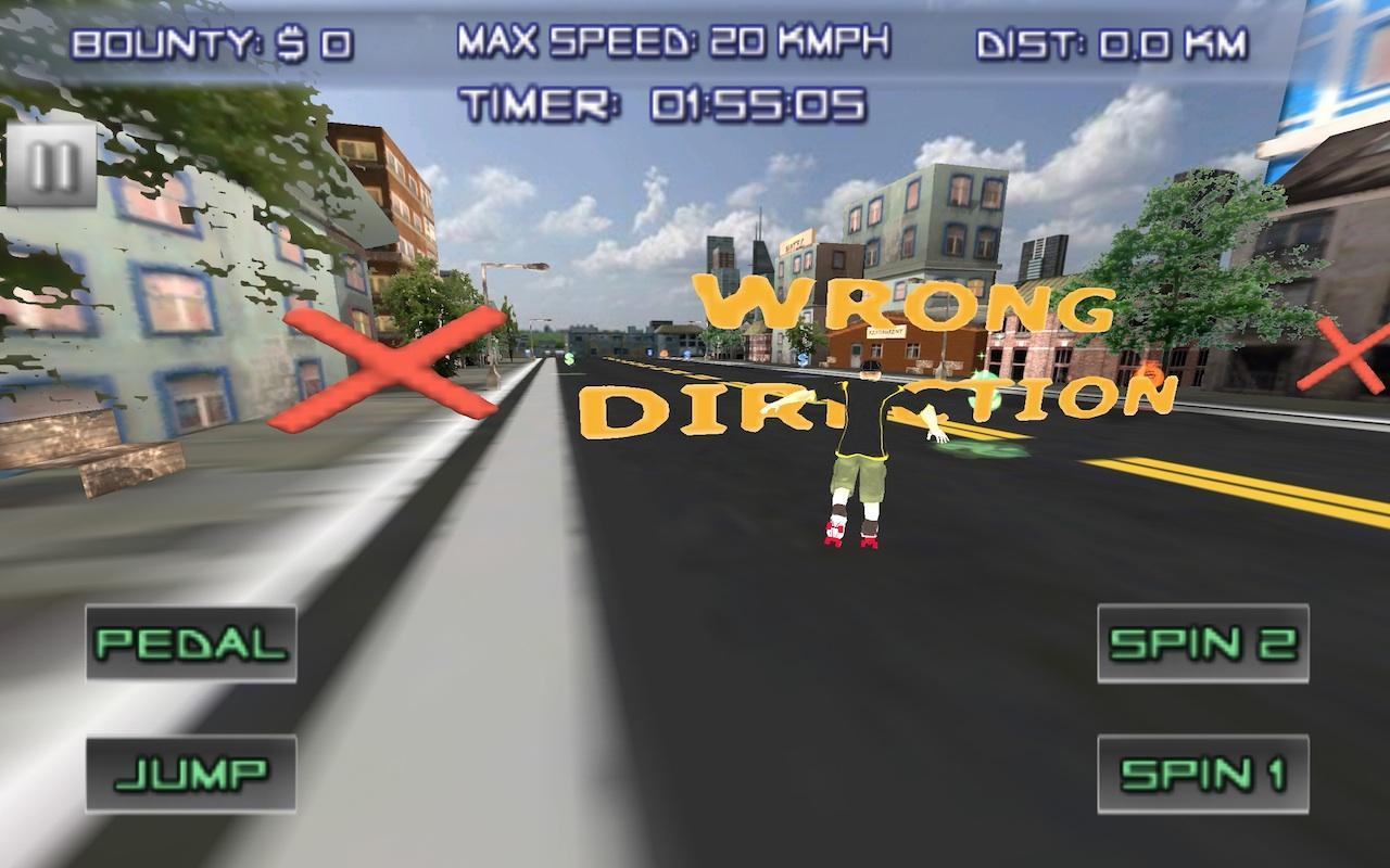 Roller skate xtreme - Extreme Roller Skater 3d Games Screenshot