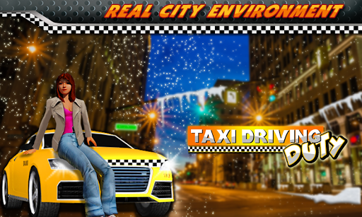 Taxi Driving Duty Free
