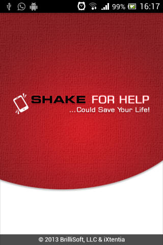 Shake for Help - screenshot