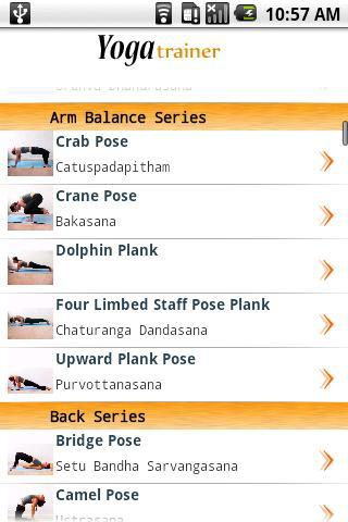 Yoga Trainer Lite 2 - screenshot