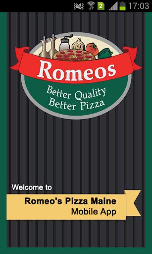 Romeos Pizza Maine