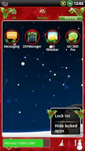 CHRISTMAS GO Launcher EX Theme- screenshot thumbnail