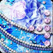 KiraHime JP Blue Flower Love