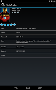 Media Tracker (Movies, etc..) - screenshot thumbnail