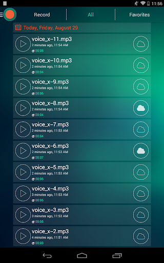 Voice Recorder - Dictaphone 2.6 screenshots 10
