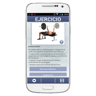 Gym: Ejercicios & Rutinas - screenshot thumbnail