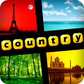 4 Pics 1 Word - Countries