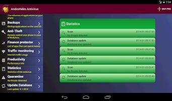 Screenshot of Antivirus for Android Phones