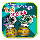 Super Sapi VS Pocong