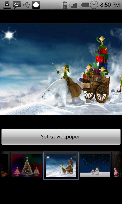 Christmas wallpapers - screenshot