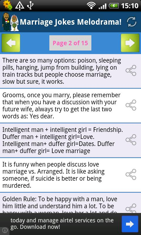 Marriage Jokes Melodrama! - screenshot