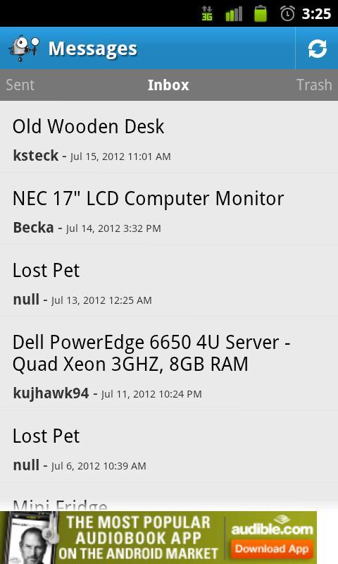 PTCI Classifieds- screenshot