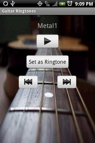 GUITAR Ringtones- screenshot