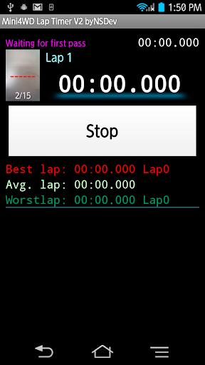 Mini4WD Lap Timer V2 byNSDev 1.2.3 Windows u7528 2