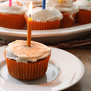 Gluten-Free Pumpkin Spice Cupcakes With Cream Cheese Icing