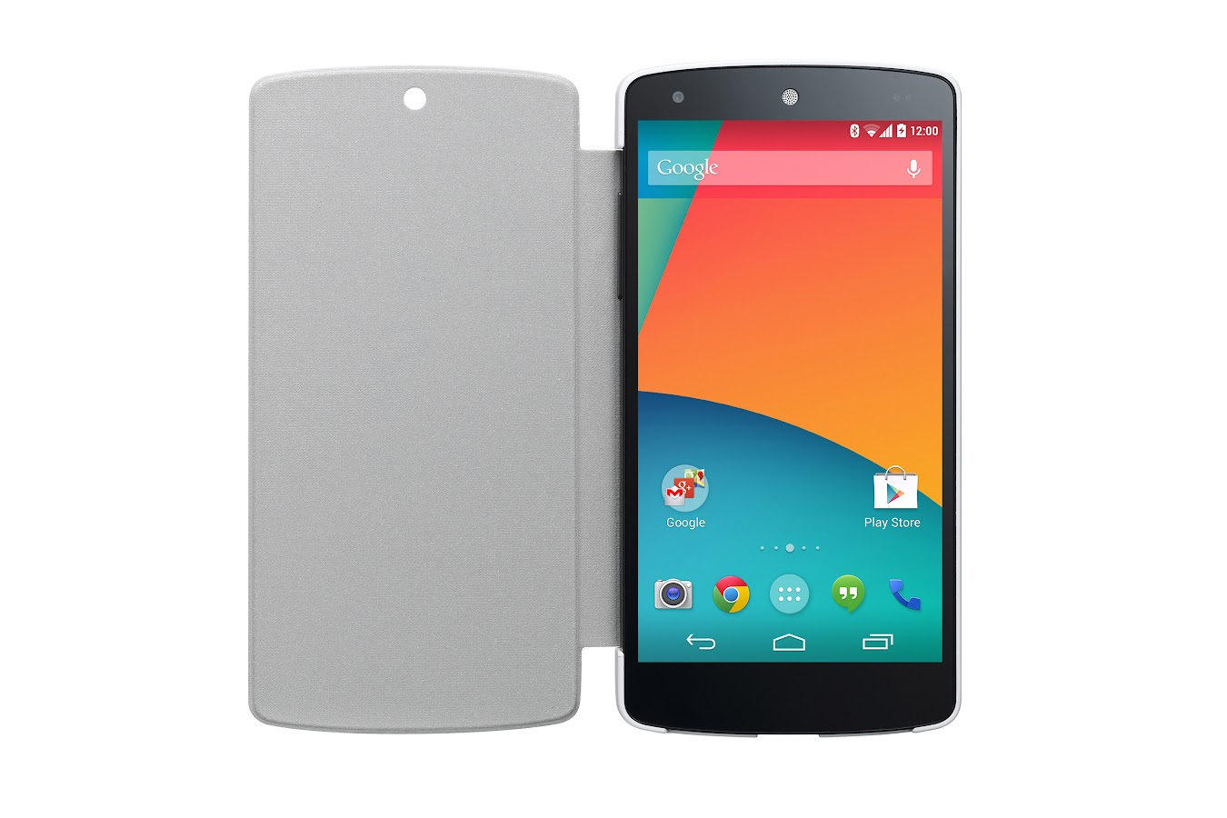 LG QuickCover for Nexus 5 (White/Gray) - screenshot