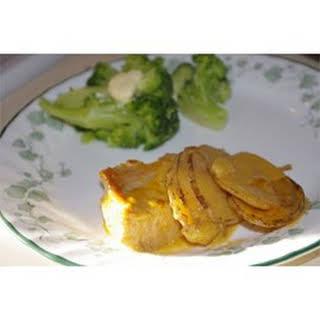 Cheesy Pork Chop Casserole.