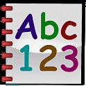 Abc123 Writer for kids icon