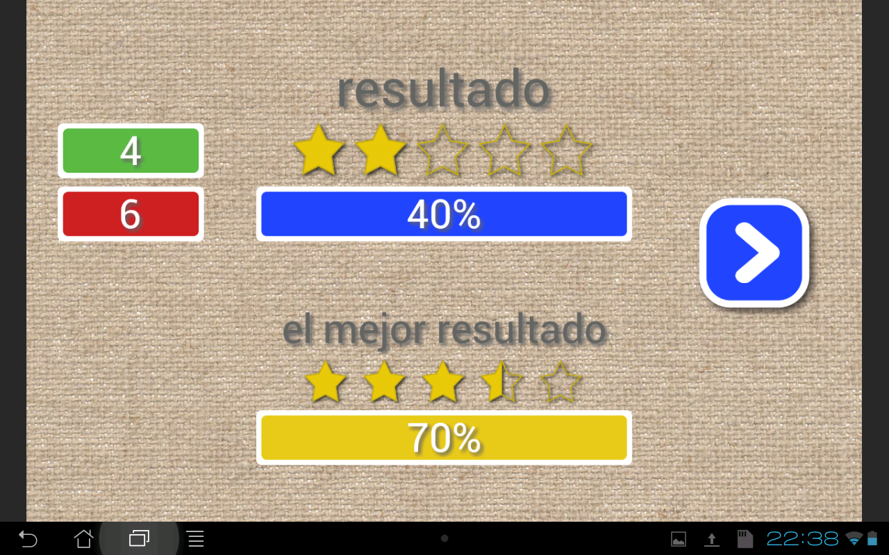 Learn Spanish words & spelling- screenshot