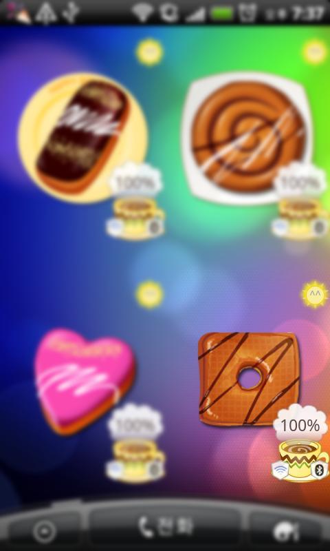 donut battery widget 8 - screenshot