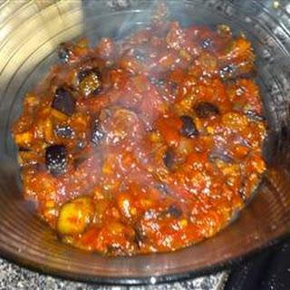 Linda's Summertime Eggplant Salsa