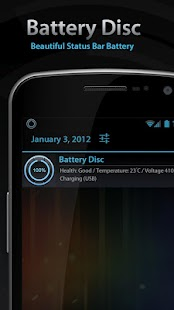 Beautiful Battery Disc Premium - screenshot thumbnail