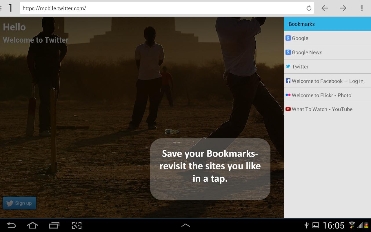 NC Browser Pro - screenshot