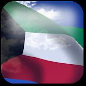 3D Kuwait Flag