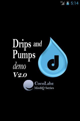 Drips and Pumps Demo