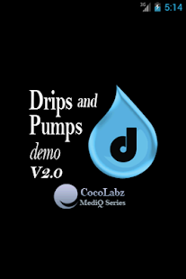 Drips and Pumps Demo- screenshot thumbnail