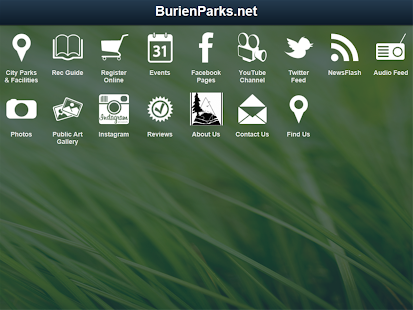 BurienParks.net - screenshot thumbnail