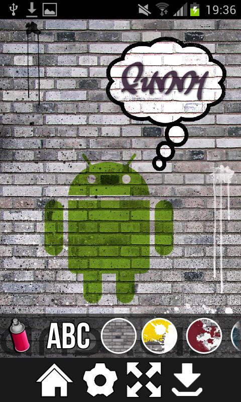 Graffiti creator! - screenshot