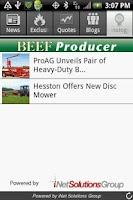 Screenshot of Beef Producer