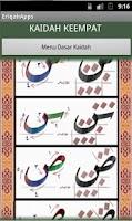Screenshot of E-Riq'ah Kaligrafi