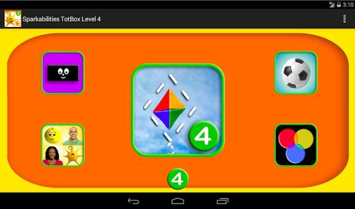 【免費教育App】Sparkabilities TotBox Level 4-APP點子
