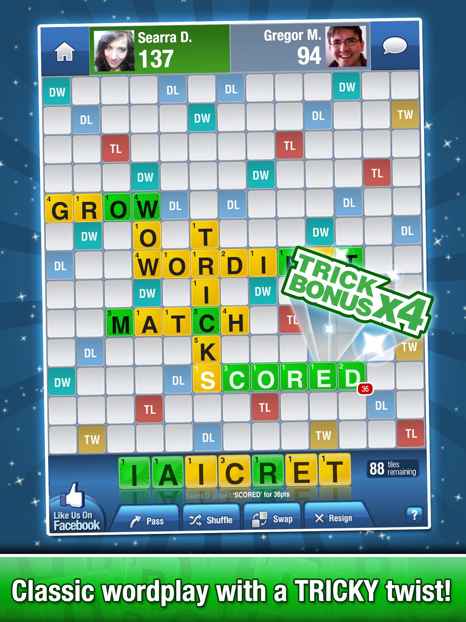 Word Trick Free screenshot #1