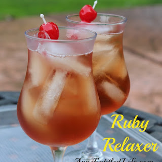 Ruby Relaxer Cocktail.
